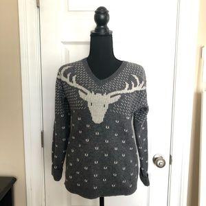 J. Crew reindeer sweater